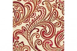 Tissu Patch collection volutes de Noël