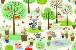 Tissu patch Garden