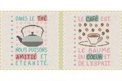 """Diagramme point de croix """"Boite à thé/café"""""""