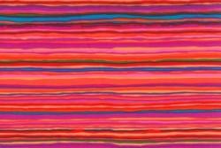 Tissu Patch Rowan, Strata-Red / Pink