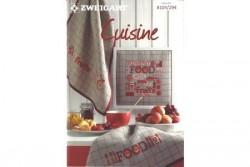 """Livre Zweigart n° 294 modèles de broderie""""Cuisine"""""""