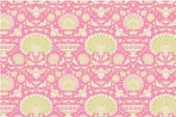 """Tissu Tilda """"Garden bees pink"""""""