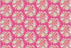"""Tissu Tilda """"Flower Nest pink"""""""