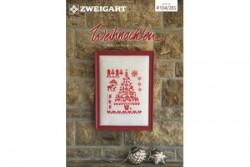 Livret Zweigart N° 285 modèles de broderie sur le thème de Noël.