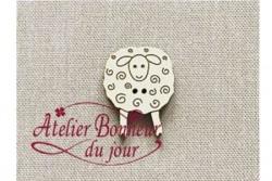 """Bouton bois """"Mouton"""""""