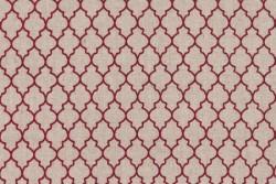 "Tissu patch Shabby Chic ""Motif Mosaïque"""