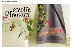 """Livret Rico n°157 """"Exotic Flowers"""""""