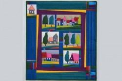 """Pack complet des tissus pour le Quilt """"Maisons"""" avec tissus Sévilla"""
