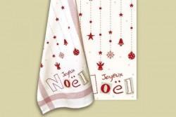 """Diagramme point de croix """"Joyeux Noel"""""""