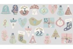 "Tissu patch ""You make me happy"" Advent calendar"