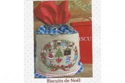 """Diagramme point de croix de Lilli Violette """"Biscuits de Noël"""""""