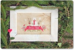 "Diagramme point de croix de Mme Chantilly ""Christmas in the Forest"""