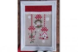 """Diagramme point de croix de Mme Chantilly """"Christmas Owls"""""""