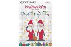 Livret Zweigart N° 295 modèles de broderie sur le thème de Noël 2017.