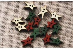 """Boutons"""" Mini étoiles de Noël"""""""