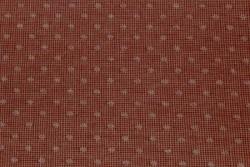 Tissu Patch Japonais couleur tommette à pois