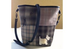 "Fiche de patchwork ' Sac scottish ""'"