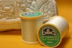 Fil coton cablé DMC blanc