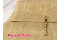Toile de lin naturel Newcastle de Zweigart, coloris 3009 vintage beige