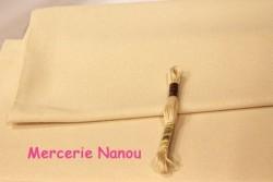 Etamine unifil MURANO de Zweigart, coloris  3021 beige rosé
