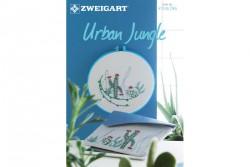 Livret Zweigart N° 296 modèles de broderie sur le thème Urban Jungle