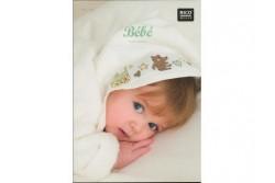 Livret Rico N° 133 linge de toilette bébé à broder