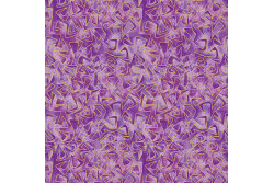 "Tissu patch de Benartex Cat-i-tude ""Méli mélo sur fond violet clair"""