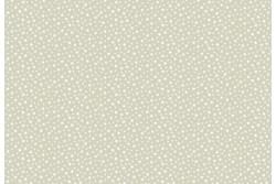 """Tissu patch """"Faux unis"""" Petites étoiles sur fond grège"""