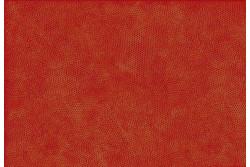 """Tissu patch """"Dimples"""" Petits losanges sur fond orange"""