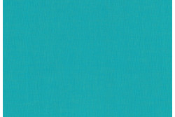 "Tissu Stof ""Sevilla"" fil à fil bleu turquoise"