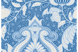 "Tissu Tilda collection  ""Sunkiss"" Océan flo blue"