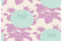 """Tissu Tilda collection  """"Sunkiss"""" Grandma's pink"""