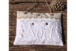 """Kit de Boutis coussin de porte """"Noël"""""""