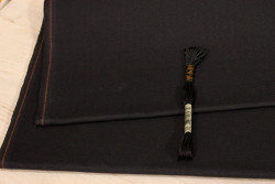 AIDA extra fine de Zweigart, coloris 7025 gris taupe