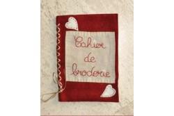 """Kit de broderie traditionnelle  """" Cahier de broderie """""""