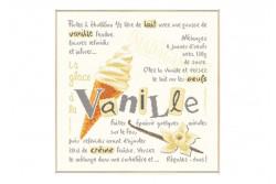 """Diagramme au point de croix Lilipoints """" Glace à la vanille"""""""