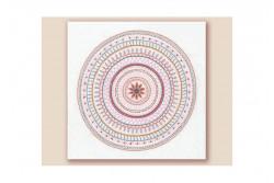 """Kit de broderie traditionnelle """"Mandala N°2"""""""