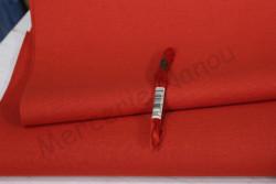 Etamine unifil LUGANA de Zweigart, coloris 9003 rouge noël