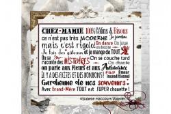 """Diagramme point de croix """"Chez mamie"""""""